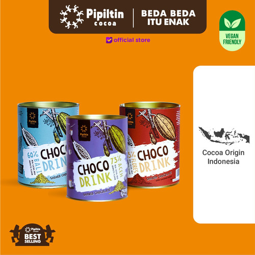 Foto Produk Pipiltin Cocoa Chocolate - Chocolate Package Choco Drink dari Pipiltin Cocoa