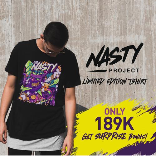 Foto Produk Tshirt NASTYLUSTRATION - S dari NASTYProject