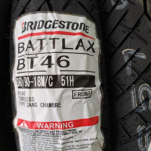 Foto Produk Ban Bridgestone Battlax BT-46 90 90 18 BT46 dari Motochiefdotnet