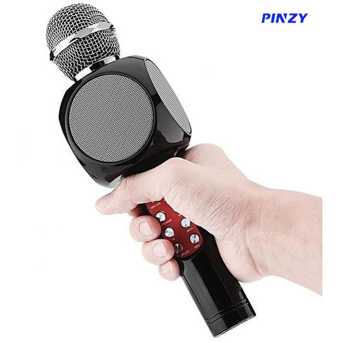 Foto Produk Microphone & Speaker Bluetooth PINZY WS-1816 LED dari PINZY Official Store