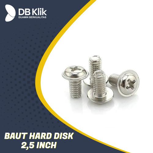 """Foto Produk Baut Hardisk / SSD Sata / Motherboard 2.5inch - Baut HDD 2.5""""(Per PCS) dari dbclick"""