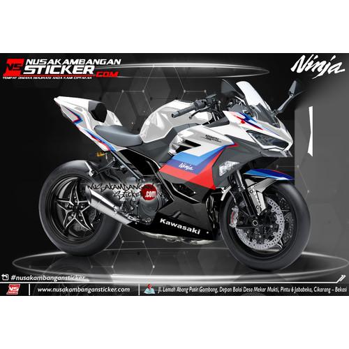 Foto Produk Stiker Ninja Fi BMW Putih dari Nusakambangan Sticker01