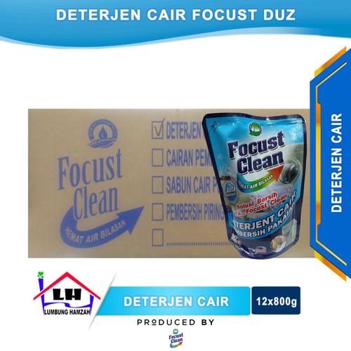 Foto Produk Deterjen Cair FOCUST Duz Isi 12x800 ml Instant/Sameday dari Toko Sabun Hamzah