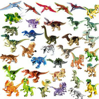 Foto Produk Lego Jurassic Dinosaurus World trex indominusrex Carnotaurus baby dino dari grosir legokw