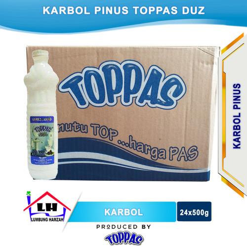Foto Produk Karbol Pine 1 Duz TOPPAS Mutu TOP Harga PAS Instant/Sameday dari Toko Sabun Hamzah