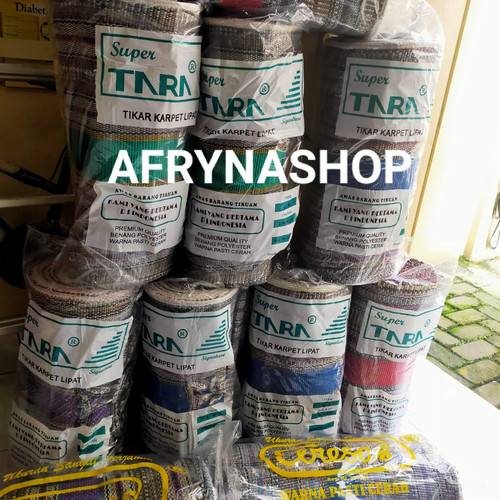 Foto Produk Promo Tiker / Tikar Tenun lipat / Gulung dari Afryna shop