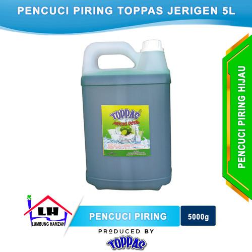 Foto Produk Pencuci Piring Lime 5 L TOPPAS Mutu TOP Harga PAS Instant/Sameday dari Toko Sabun Hamzah