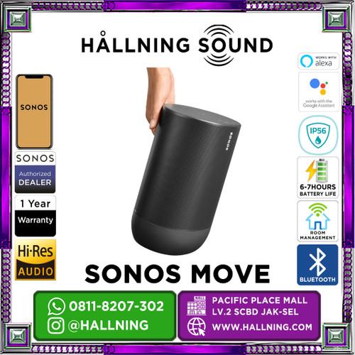 Foto Produk Speaker Sonos Move - Hitam dari HallningSound