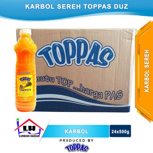 Foto Produk Karbol Sereh 1 Duz TOPPAS Mutu TOP Harga PAS Instant/Sameday dari Toko Sabun Hamzah