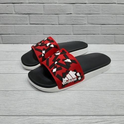Foto Produk Sandal Adidas Adilette Slide Motif Red Import dari Gayoshoop