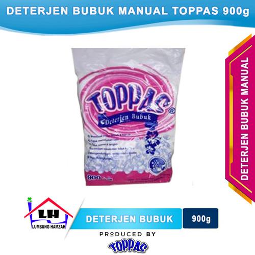 Foto Produk Deterjen Bubuk Manual 900 Gram TOPPAS Mutu TOP Harga PAS dari Toko Sabun Hamzah