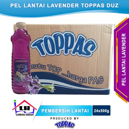 Foto Produk Pembersih Lantai Lavender 1 Duz TOPPAS Mutu TOP Harga PAS Instant/Same dari Toko Sabun Hamzah