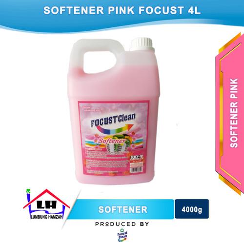 Foto Produk Softener Pink 4L FOCUST CLEAN dari Toko Sabun Hamzah
