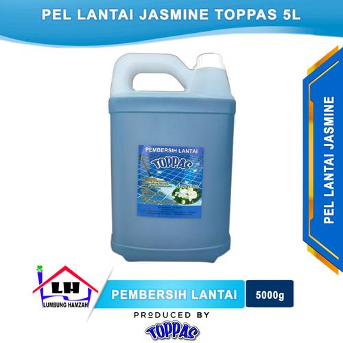 Foto Produk Pembersih Lantai Jasmine 5 L TOPPAS Mutu TOP Harga PAS Instant/Sameday dari Toko Sabun Hamzah