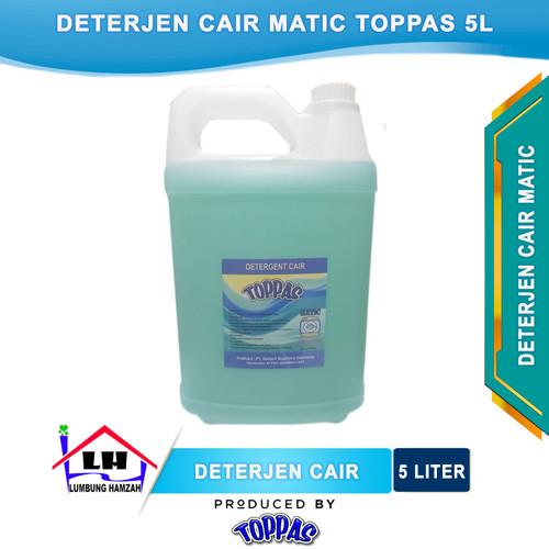 Foto Produk Deterjen Cair Matic TOPPAS Mutu TOP Harga PAS Instant/Sameday dari Toko Sabun Hamzah