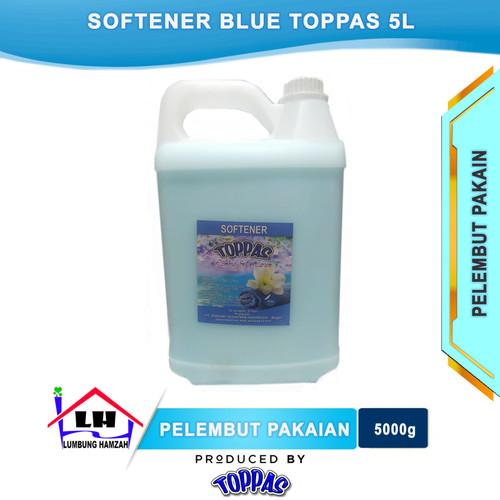 Foto Produk Softener Blue 5 L TOPPAS Mutu TOP Harga PAS dari Toko Sabun Hamzah