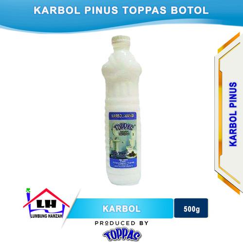 Foto Produk Karbol Pine Botol TOPPAS Mutu TOP Harga PAS dari Toko Sabun Hamzah