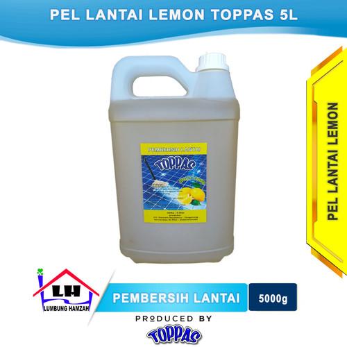 Foto Produk Pembersih Lantai Lemon 5 L TOPPAS Mutu TOP Harga PAS dari Toko Sabun Hamzah
