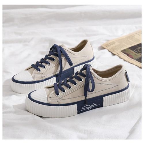 Foto Produk Marelow Misyel LO- Sneakers canvas Wanita Import - khaki, 37 dari Sneakers_Import1720