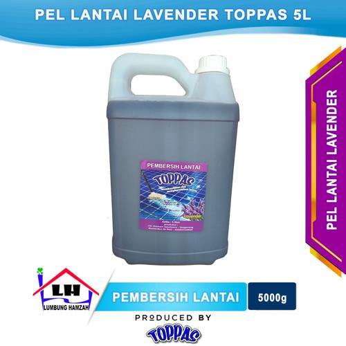 Foto Produk Pembersih Lantai Lavender 5 L TOPPAS Mutu TOP Harga PAS Instant/Sameda dari Toko Sabun Hamzah