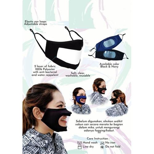 Foto Produk Window Mask Windows Masker Transparan Paling Murah dari Laku Terus Terpercaya