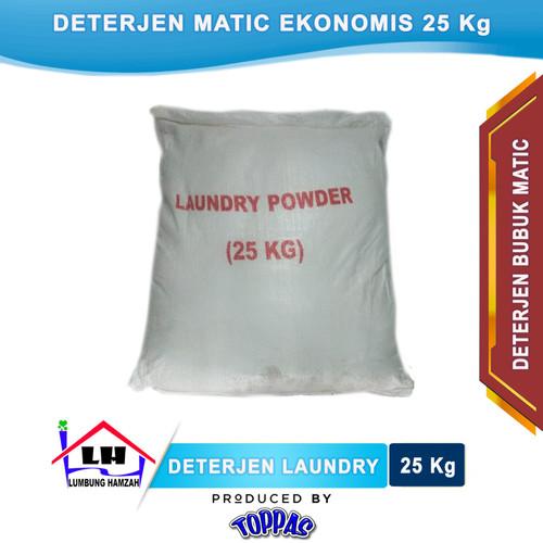 Foto Produk Deterjen Bubuk Matic Laundry 25 Kg TOPPAS Instant/Sameday dari Toko Sabun Hamzah