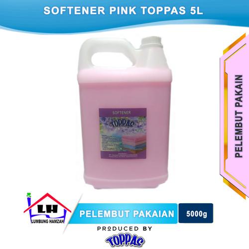 Foto Produk Softener Pink 5 L TOPPAS Mutu TOP Harga PAS Instant/Sameday dari Toko Sabun Hamzah