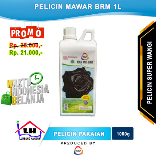 Foto Produk Mawar Super Laundry BRM Varian Hitam 1L Promo dari Toko Sabun Hamzah