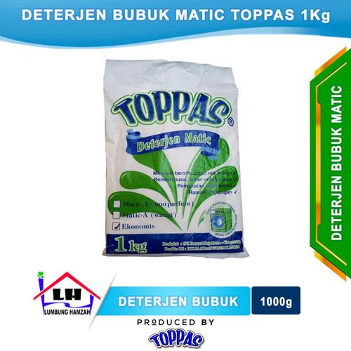 Foto Produk Deterjen Bubuk Matic 1 Kilo TOPPAS Mutu TOP Harga PAS dari Toko Sabun Hamzah