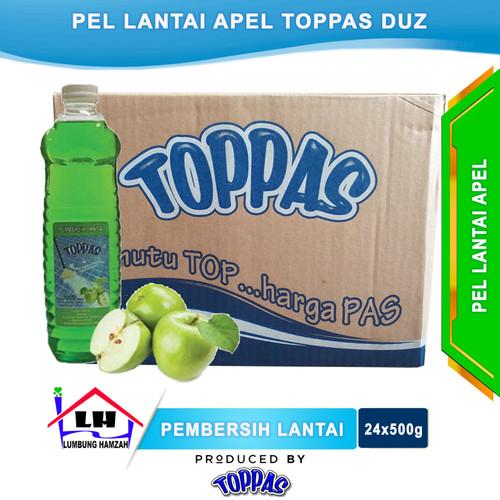 Foto Produk Pembersih Lantai Apel 1 Duz TOPPAS Mutu TOP Harga PAS Instant/Sameday dari Toko Sabun Hamzah