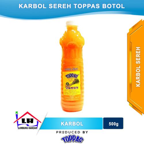 Foto Produk Karbol Sereh Botol TOPPAS Mutu TOP Harga PAS dari Toko Sabun Hamzah