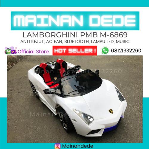 Foto Produk Mainan Anak Mobil Menggunakan Aki tipe PMB 8188 MURAH - Putih dari Mainan Anak Dede