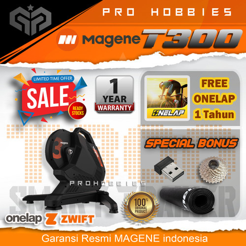 Foto Produk Magene T300 Smart Bicycle Trainer 2600W Power Direct Drive Bike Traine - T300 Unit dari Pro Hobbies