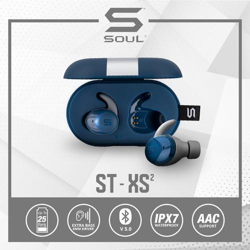 Foto Produk SOUL ST-XS2 High Performance Earphones Headset with Bluetooth - Biru dari Soul official