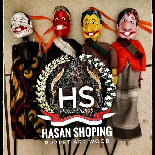 Foto Produk wayang golek cepot, dawala, gareng, semar mini dari hasan shoping