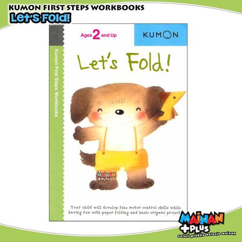 Foto Produk BUKU ANAK KUMON FIRST STEPS WORKBOOKS - LET'S FOLD dari MainanPlus