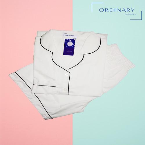 Foto Produk Baju Tidur / Piyama Polos - Putih, HP dari Ordinary Pajamas