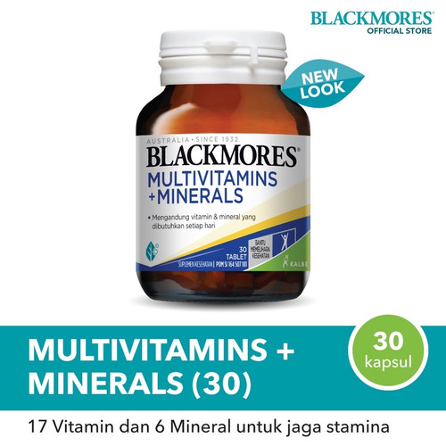 Foto Produk blackmores multivitamins and minerals isi30 Original Australia dari Leon Lee Store