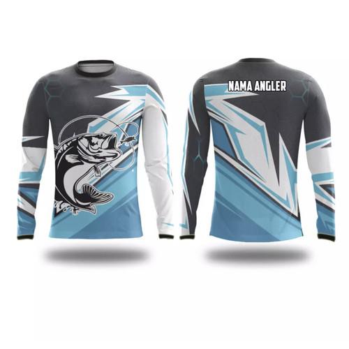 Foto Produk Jersey mancing   jersey mancing custom satuan   full printing panjang - DESIGN 1, XS dari WeniZ Project