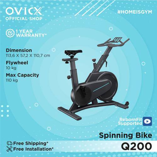 Foto Produk Ovicx Q200 Spinning Bike - tanpa layar dari Ovicx official store