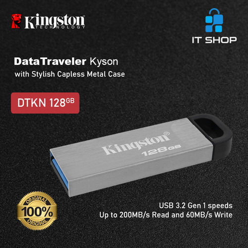 Foto Produk Kingston DataTraveler Kyson USB Flash Drive 128GB dari IT-SHOP-ONLINE