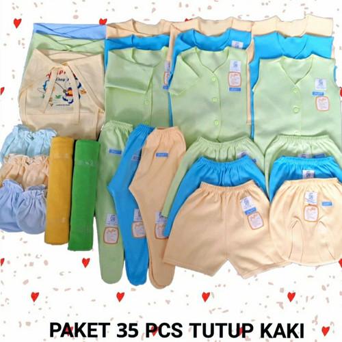 Foto Produk PAKET HEMAT BAJU BAYI NEWBORN 35 PCS - 0-3 Bulan, PAKET TK dari linsbabyshop