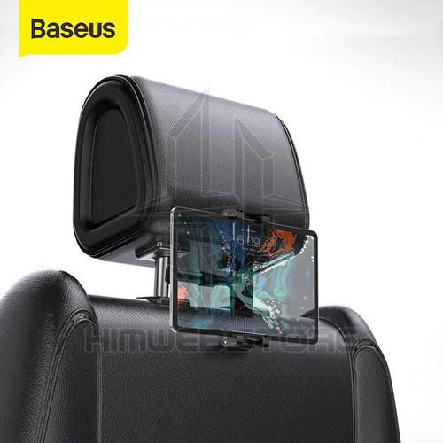 Foto Produk BASEUS Backseat Headrest Car Phone Holder Mount Bracket Ipad Tablet Hp dari HimTech