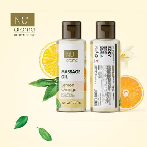 Foto Produk Nu Aroma Massage Oil / Minyak Pijat - LEMON ORANGE dari TY BALI SPA