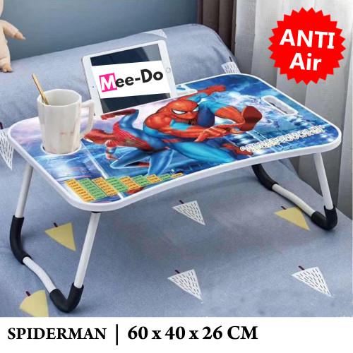 Foto Produk Mee-Do Meja Lipat Laptop / Meja Belajar Anak / Folding Table Karakter - SPIDERMAN dari Mee Do