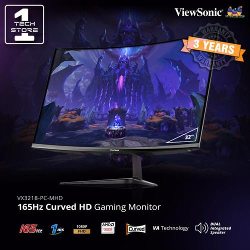 "Foto Produk Monitor LED Viewsonic VX3218PC MHD 32"" Curved 1080p 165Hz 1ms HDMI DP dari tokoJBC"