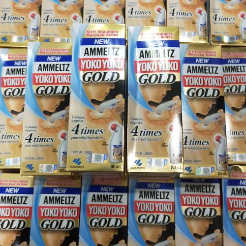 Foto Produk Yoko Yoko ammeltz 80ml NEW less smell - Gold dari berkahsehat88