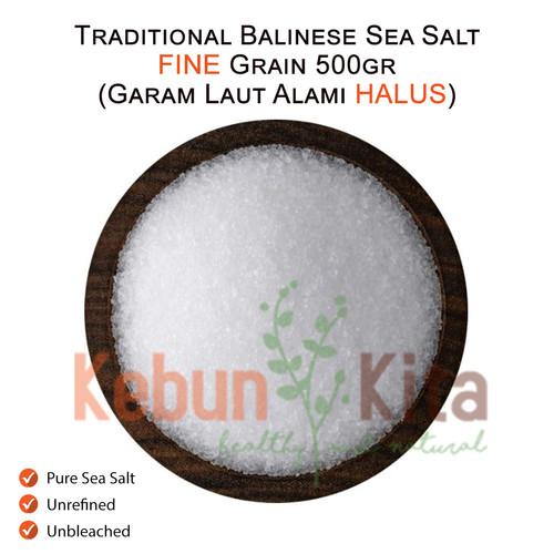 Foto Produk Traditional Balinese Sea Salt 500gr ( Garam Laut Alami ) dari Kebun Kita