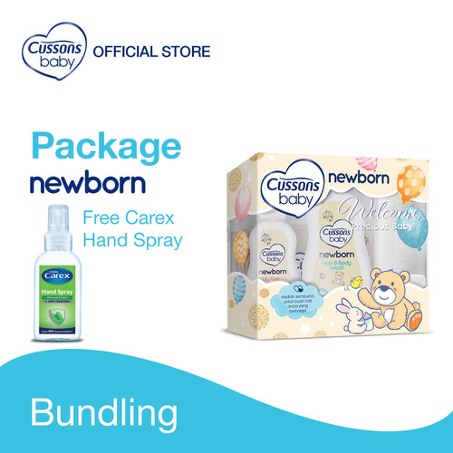 Foto Produk Cussons Baby Newborn Pack (NEW) dari Cussons Official Store