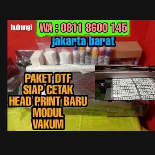 Foto Produk paket DTF murah full paket vakum dan modul head print baru dari mh8clothing